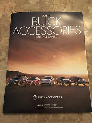 2015 - 2016 Buick 32-page Accessories Original Sales Brochure