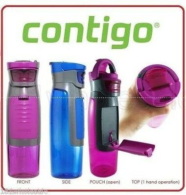 Contigo Kangaroo Autoseal Insulated Travel Bottle Mug Eco Thermos OUTDOORS 750ml