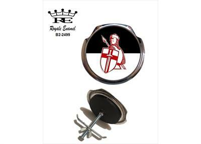 Royale Car Grill Badge + Fittings - KNIGHT OF THE CRUISADE ENGLAND - B2.2499