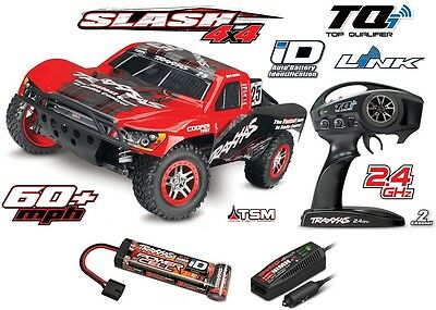 Traxxas Slash 1/10 4x4 Brushless TQi Wireless Stabilitätskontrolle (TSM) 68086-3