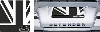 LAND ROVER DEFENDER 90 / 110 Aftermarket Bonnet Sticker Set Special Vehicles kit