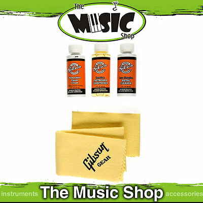 Gibson Vintage Reissue Restoration Kit - Guitar Cleaning Kit for Nitro Cellulose
