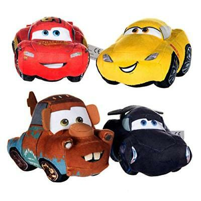 "Disney Cars Soft Toy 8"" Plush Baby Toddler Kids Gift 0+ New McQueen Mater Fin"