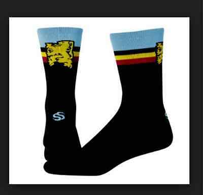Save Our Soles Flanders coolmax cycling socks made in USA