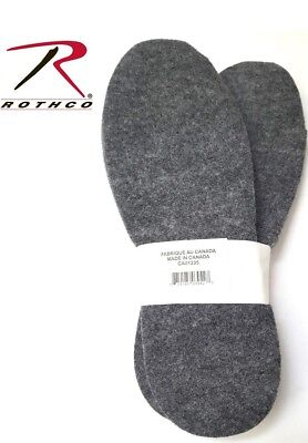 Boot Insoles Cold Weather Heavyweight Felt Boot Insoles Trim To Fit 6187