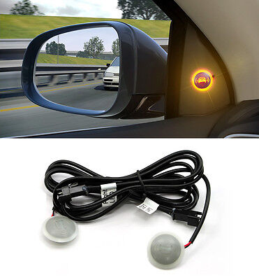 Universal Blind Spot Assist LED Warning Light 2p For Kia Hyundai Chevy Renault