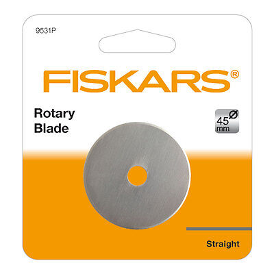 NEW | Fiskars F9531P Replacement Straight Rotary Blade 45mm | FREE SHIPPING