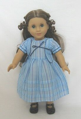 """Doll Clothes Fit 18"""" Dress Felicity Blue Lavender Fits American Girl Doll"""