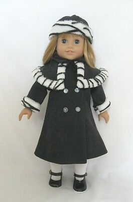 Doll Clothes Fit 18in Doll For Warm Jackets+Pants KidZsMPCC Fad US