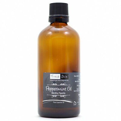 100ml Peppermint 100% Pure Essential Oil - Mentha piperita - Aromatherapy
