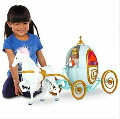 Disney CINDERELLA Happily Ever After Carriage Horse Pumpkin Coach Wedding NEW