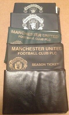 Collection of 5 x Vintage Manchester United Season Ticket Booklets 1991-1996