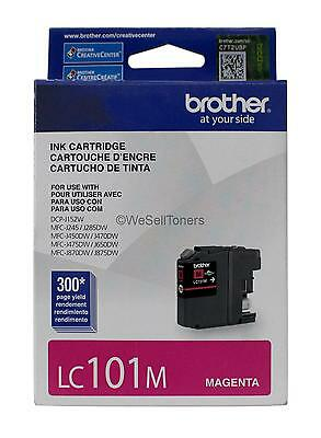 Brother LC101M Magenta Ink Cartridge LC-101M Genuine New
