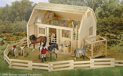 Breyer Traditional Series #7500 Wood Corral -New-Factory Sealed