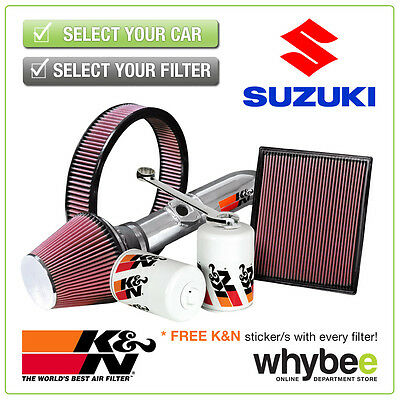 SUZUKI Swift All K&N KN Performance Filters inc Air, Oil & Intake Kits - New!