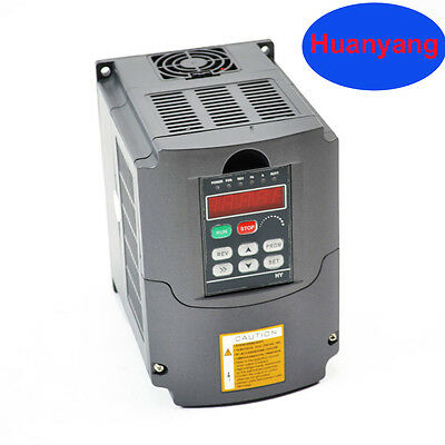 Top  110V 2.2Kw  Variable Frequency Drive Inverter Vfd For Cnc Huan Yang Brand