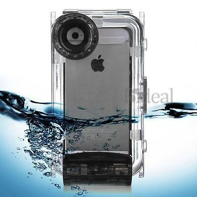2015 Newest 40M Waterproof Underwater Diving Housing Cover Case for iPhone 5 5S