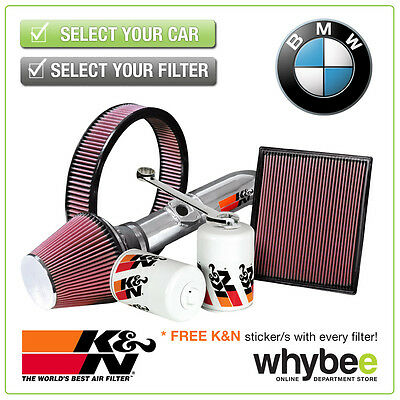 BMW 3 Series 325 All K&N KN Performance Filters inc Air, Oil & Intake Kits - New