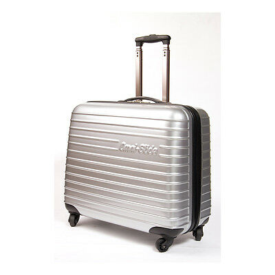 NEW Omni Glide MR6010-SILV Sewing Machine Trolley Case Small in Silver FREE POST