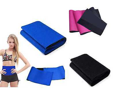Sauna Slimming Belt Body Shaper Wrap Weight Loss Fat Burner Tummy Cellulite Burn