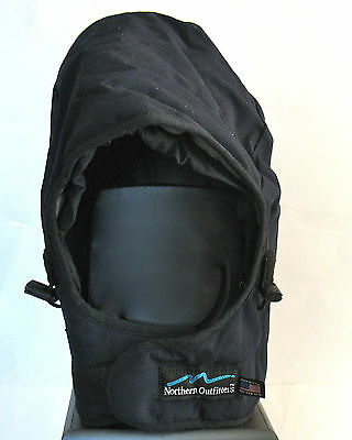 Dark Blue Nomex Insulated Hard Hat Liner, Northern Outfitters w/Face Shield