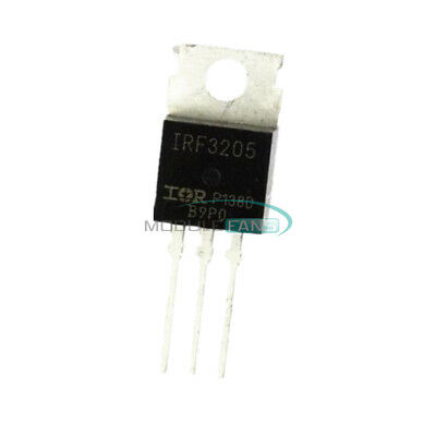10Pcs Irf3205 3205 N-Channel 110A 55V Mosfet