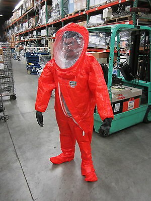 SMALL - Kappler Responder Plus Used Haz-Mat Suit
