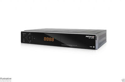 Amiko HD-8150 DVB-S2 Full HD Satellite Receiver LAN, USB PVR, WIFI Ready ,Conax