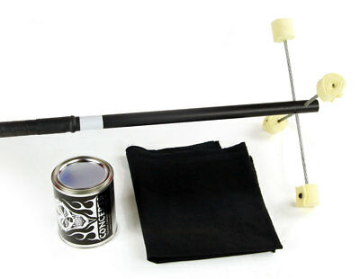 5ft Cable Fire Dragon Staff, Kevlar Wick, Dip Can, Fire Blanket Trick Concepts