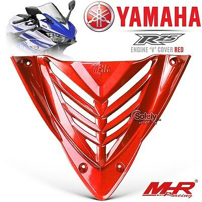 New Yamaha YZF R25 R3 MHR Red Motorcycle Bike Engine Guard V Grille Cover