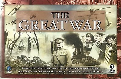 The Great War - 4 Dvd Box Set - World War I (Wwi) Prelude To Battle & More