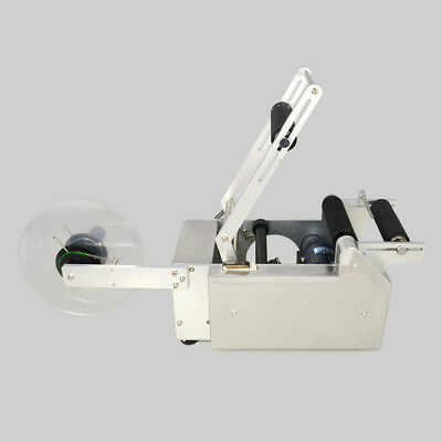 Top  Labeling Machine Mt-50  Semi-Automatic Round Bottle Labeler Machine  Ce