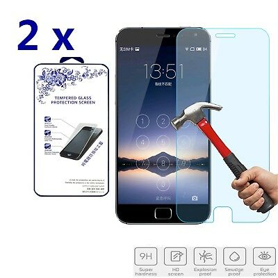 2x For Meizu MX4 Pro Premium Tempered Glass Screen Protector Film 2.5D 0.3mm 9H
