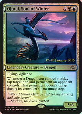 Choose your Prerelease / Launch rare Foil Promo - MTG Magic - All with date on
