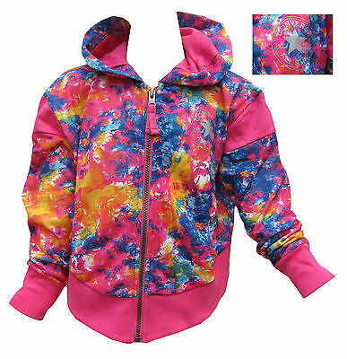 Converse Girls Hoodie/Hoody Explosion Chuck Taylor All Star Light Weight 8-15Y