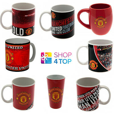 Manchester United Football Soccer Club Team Ceramic Mug Cup Coffee Tea Official