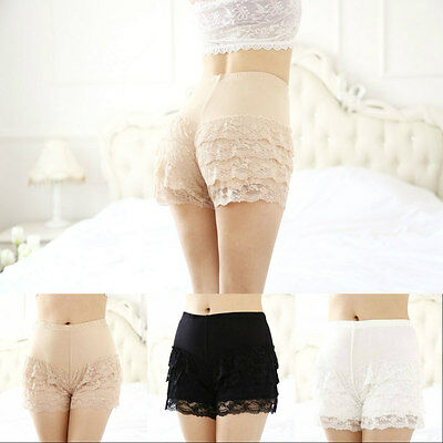 Plus Size Frilly Knickers Pants Panties Underwear Ruffle Burlesque Pants 8 - 18