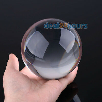 90mm Contact Ball - 100% Crystal Clear Acrylic Ball - Manipulation Juggling