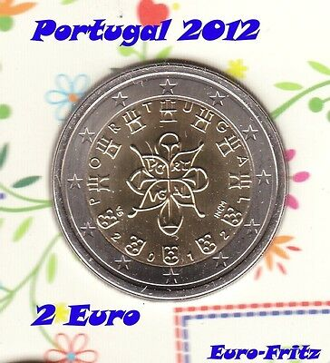 Portugal 2012  2 Euro   aus off. KMS  sehr selten ~**~