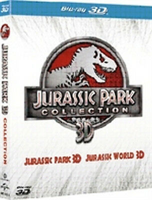 Jurassic Park Collection 3D (2 Blu-Ray 3D + 2 Blu-Ray Disc)