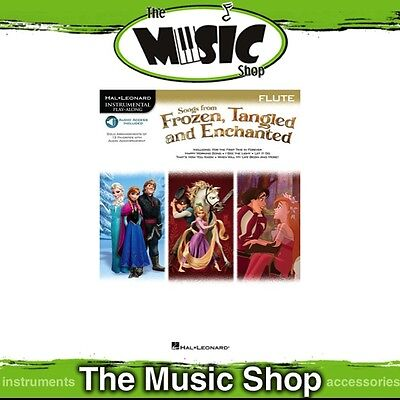 New HL Play Along: Songs from Frozen, Tangled & Enchanted for Flute Music Book