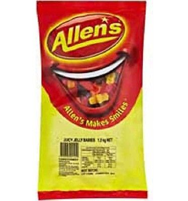 Allens Jelly Babies 1.3kg
