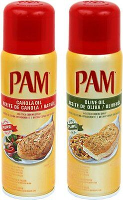 PAM Canola oder  Oliv Oil Cooking Spray 1 Dose a´(148ml)