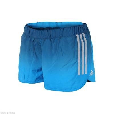 Adidas Performance Running Shorts Gym Fitness Blue Ombre Light Exercise D79910