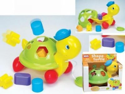 Shape Sorter Puzzle Baby Toddler Fun Pull Along Sort Activity Toy