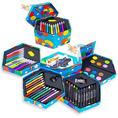 Drawing Pencils Paints Pens for Kids Artist Art Craft Painting Tools 52 Pack