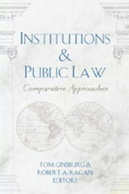 Institutions And Public Law  9780820474779