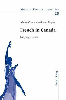 French In Canada Conrick  Maeve 9783039101429