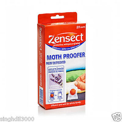 Zensect Moth Balls Proofer Moth larvae & Eggs Repellent Killer Fabric Freshener