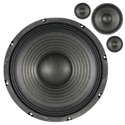 "4x Skytronic 10"" Speaker Bass Woofers Replacement Cones Spare Drivers 400W"